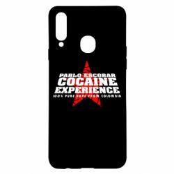 Чехол для Samsung A20s Pablo Escobar