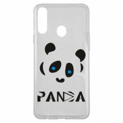 Чохол для Samsung A20s Panda blue eyes