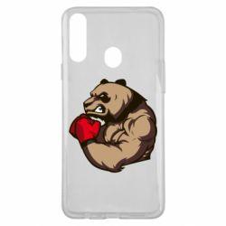 Чехол для Samsung A20s Panda Boxing