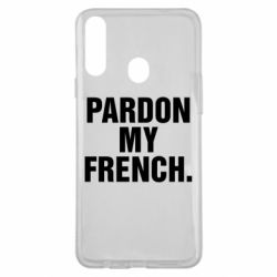 Чехол для Samsung A20s Pardon my french.