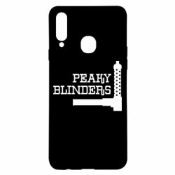 Чохол для Samsung A20s Peaky Blinders and weapon