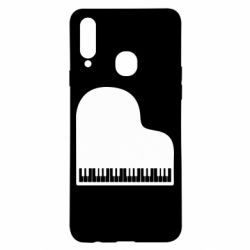 Чохол для Samsung A20s Piano in the heart