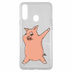 Чохол для Samsung A20s Pig dab