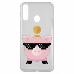 Чохол для Samsung A20s Piggy bank