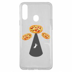 Чохол для Samsung A20s Pizza UFO