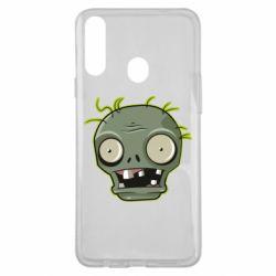 Чохол для Samsung A20s Plants vs zombie head