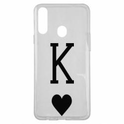 Чохол для Samsung A20s Playing Cards King