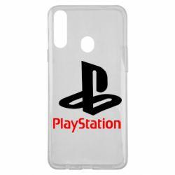 Чехол для Samsung A20s PlayStation