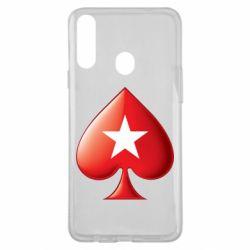 Чохол для Samsung A20s Poker Stars 3D Logo