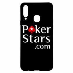 Чехол для Samsung A20s Poker Stars