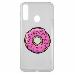Чехол для Samsung A20s Пончик Гомера