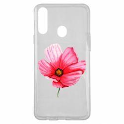 Чехол для Samsung A20s Poppy flower