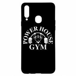 Чехол для Samsung A20s Power House Gym