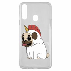 Чехол для Samsung A20s Pug in the suit