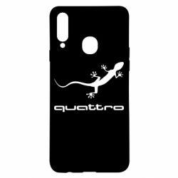 Чохол для Samsung A20s Quattro