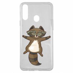 Чохол для Samsung A20s Raccoon