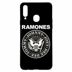 Чохол для Samsung A20s Ramones