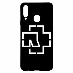 Чохол для Samsung A20s Ramshtain logo