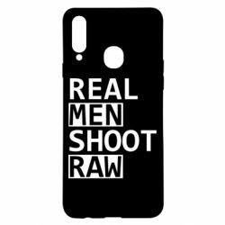 Чохол для Samsung A20s Real Men Shoot RAW