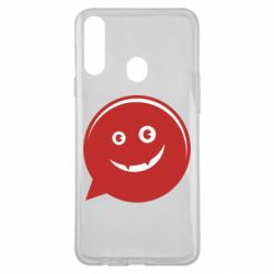 Чехол для Samsung A20s Red smile