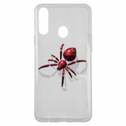 Чохол для Samsung A20s Red spider