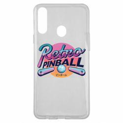 Чехол для Samsung A20s Retro pinball