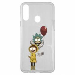 Чехол для Samsung A20s Rick and Morty: It 2