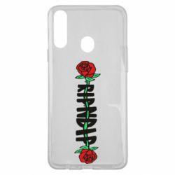 Чехол для Samsung A20s RipnDip rose