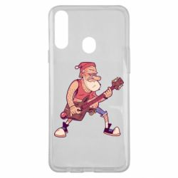 Чохол для Samsung A20s Rock'n'roll Santa