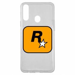 Чохол для Samsung A20s Rockstar Games logo