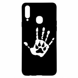 Чохол для Samsung A20s Рука вовка