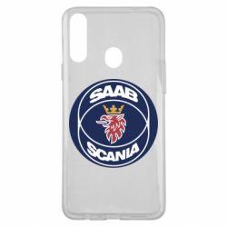 Чехол для Samsung A20s SAAB Scania