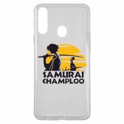 Чохол для Samsung A20s Samurai Champloo