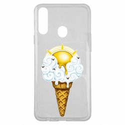 Чохол для Samsung A20s Sea ice cream