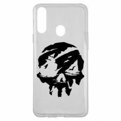 Чохол для Samsung A20s Sea of Thieves skull