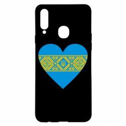 Чехол для Samsung A20s Серце України
