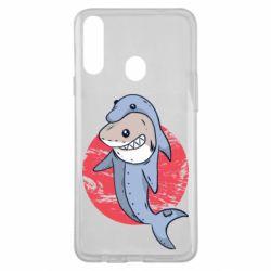 Чехол для Samsung A20s Shark or dolphin