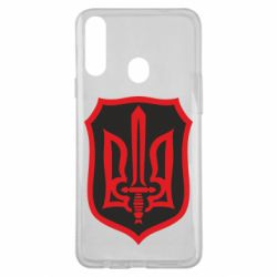 Чехол для Samsung A20s Shield with the emblem of Ukraine and the sword