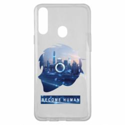 Чохол для Samsung A20s Silhouette City Detroit: Become Human
