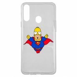 Чехол для Samsung A20s Simpson superman