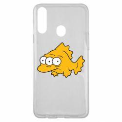 Чехол для Samsung A20s Simpsons three eyed fish