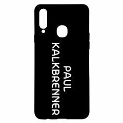 Чохол для Samsung A20s Singer Paul Kalkbrenner