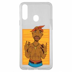 Чохол для Samsung A20s Singer Tupac Shakur