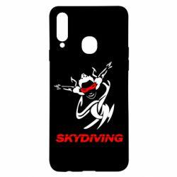 Чохол для Samsung A20s Skidiving
