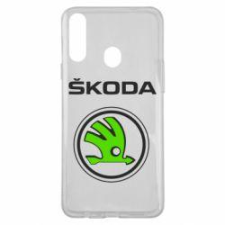 Чехол для Samsung A20s Skoda Bird