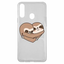 Чохол для Samsung A20s Sloth lovers