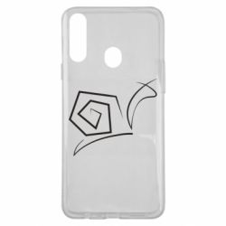 Чехол для Samsung A20s Snail minimalism