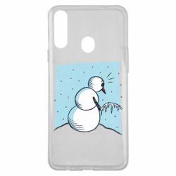 Чохол для Samsung A20s Snowman. It's Cold!