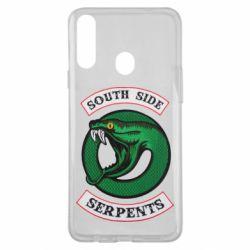 Чехол для Samsung A20s South side serpents stripe