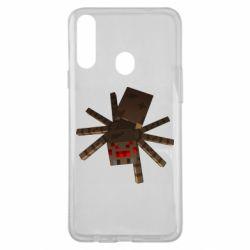 Чохол для Samsung A20s Spider from Minecraft